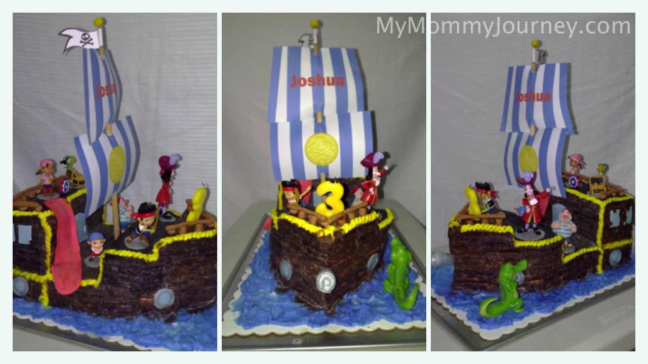 pirate birthday cake, pirate theme cake, ship cake