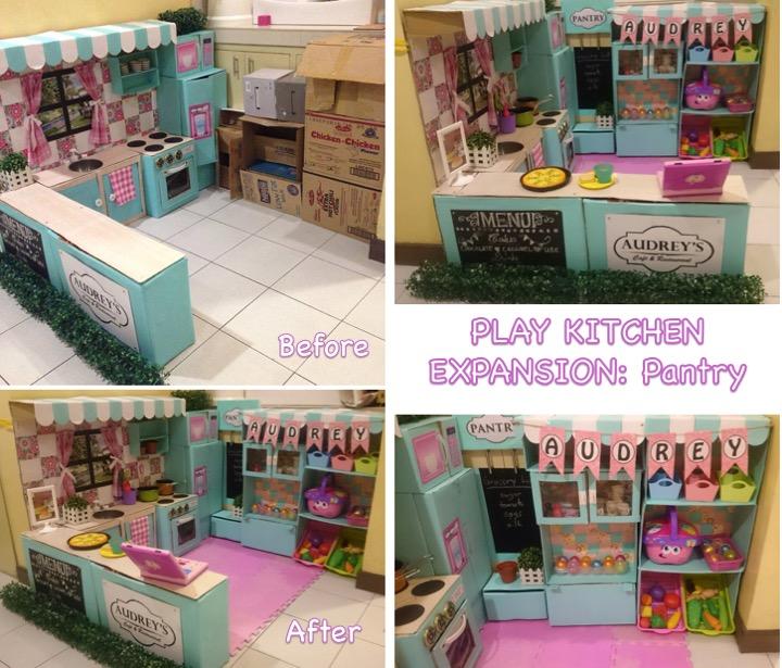 play kitchen pantry