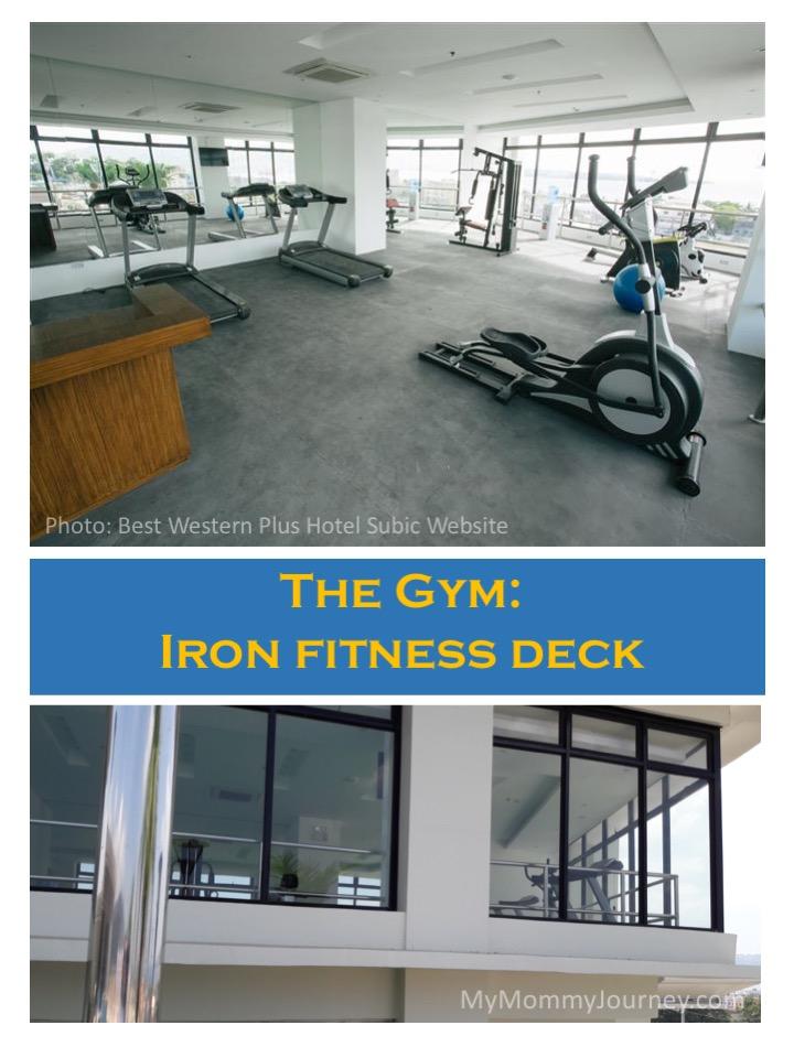 subic hotel, hotel gym