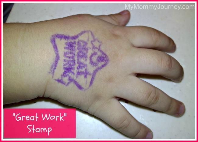 1st day of preschool stamp