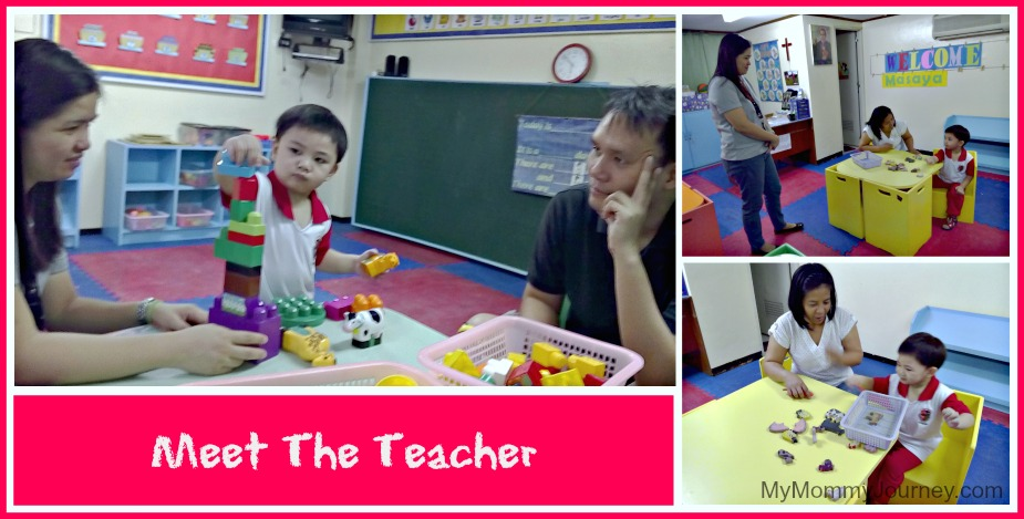 preparing for preschool meet the teacher