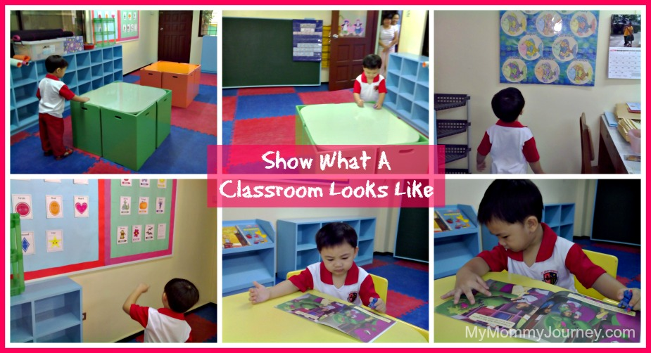 preparing for preschool show classroom