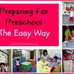 Preparing For Preschool The Easy Way