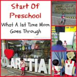 Start Of Preschool: What A 1st Time Mom Goes Through
