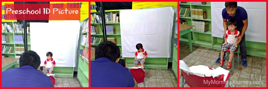 preschool id picture taking