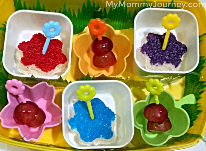 bento, bento school snacks, bento flowers, bento flower theme