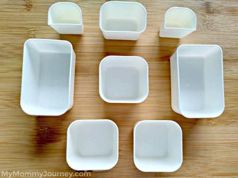 bento, plastic cups