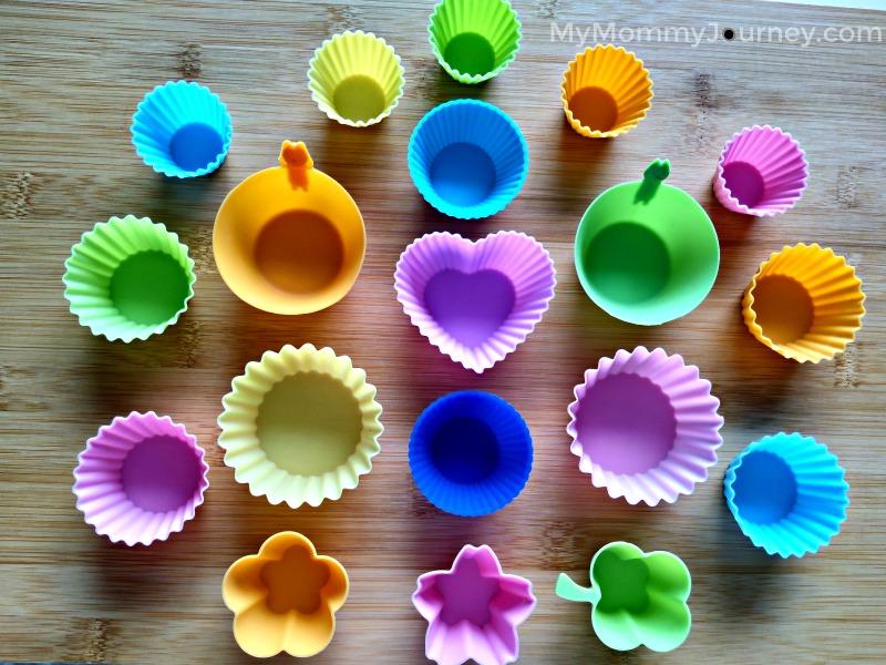 bento silicone cups, bento, silicone cups