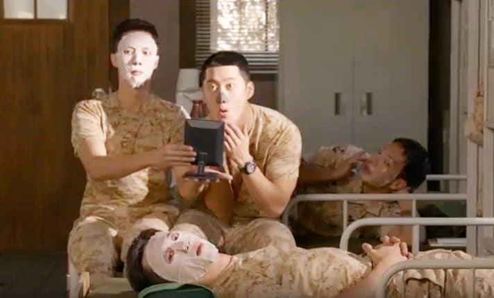 Korean drama Descendants of the Sun Sheet Mask, Kdrama fan