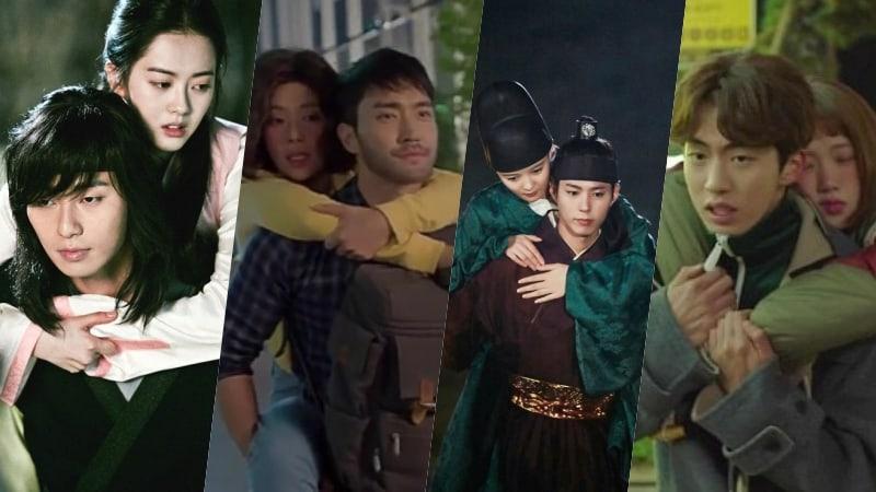 piggy back ride, Kdrama fan, Korean drama