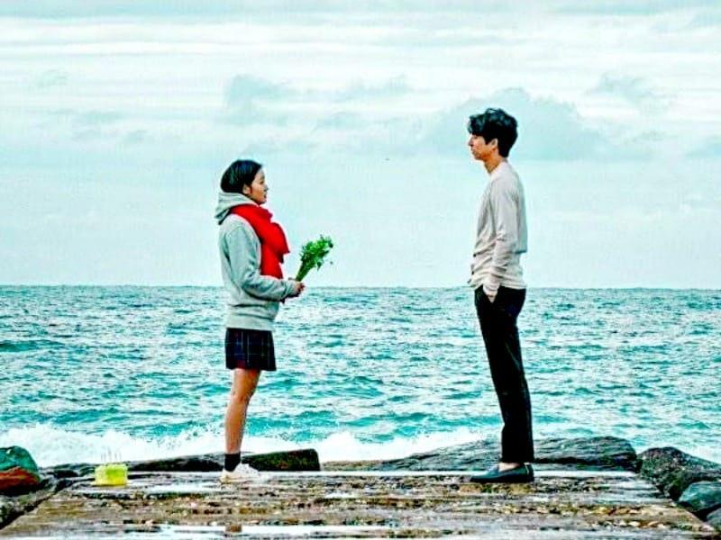 Korean drama stare and freeze scene, Kdrama fan