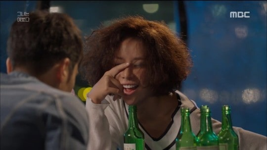She Was Pretty drinking Soju, Korean drama, Kdrama fan