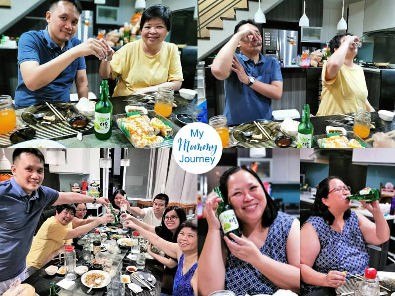 diy father's day gift surprise for husband special drink soju