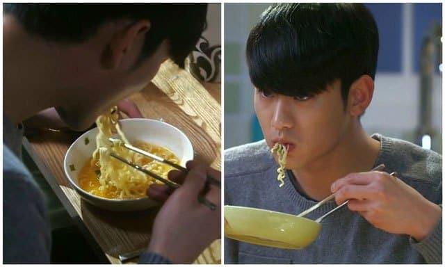 Korean drama eating ramen, Kdrama fan