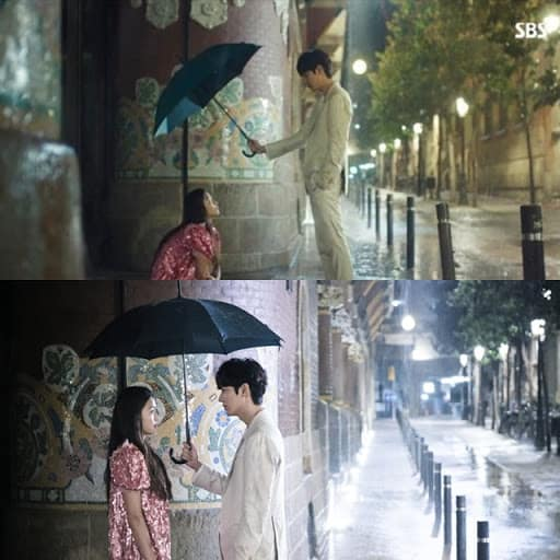 Korean drama Legend of the Blue Sea umbrella scene, Kdrama fan