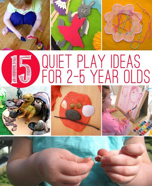 Quiet Play Activities For Toddlers And Preschoolers