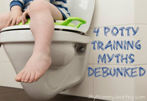 Potty Training Toddlers: 4 Common Myths Debunked