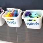 Life Hacks: 15 Ideas To Make Bath Time Hassle-Free + 39 Ideas To Organizing Your Kids Stuff