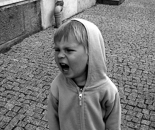 screaming toddler, toddler tantrums, temper tantrums