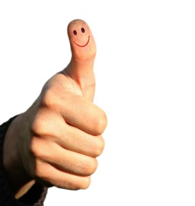 success, thumbs up