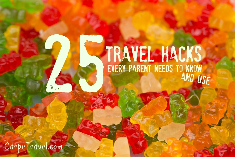 travel hacks, traveling with kids