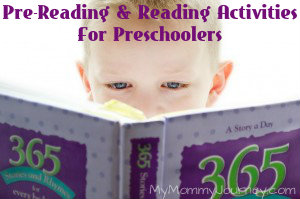 Pre-Reading and Reading Activities for Preschoolers