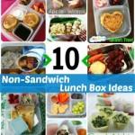 10 Non-Sandwich Lunch Ideas