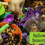 Halloween Activity: Halloween Sensory Bin
