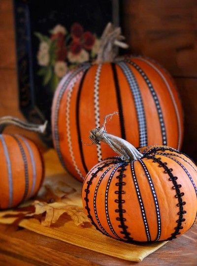 pumpkin ideas, no carve pumpkin ideas