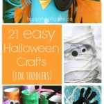 Halloween Activity Ideas: 21 Easy Halloween Crafts for Toddlers