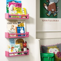 kids' bedroom ideas, kids' bookshelves