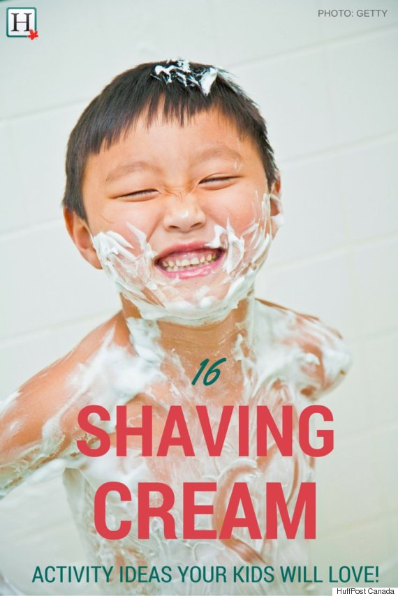 16 Shaving Cream Art For Kids