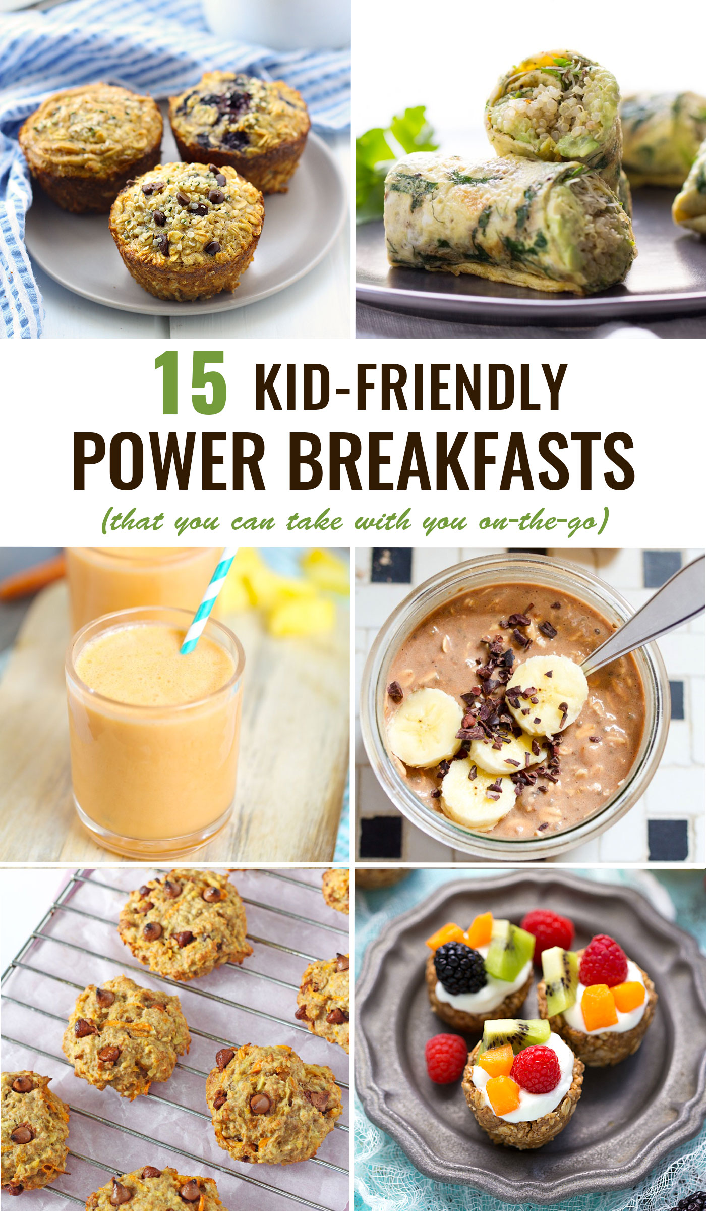 Kid Friendly Breakfasts To Go