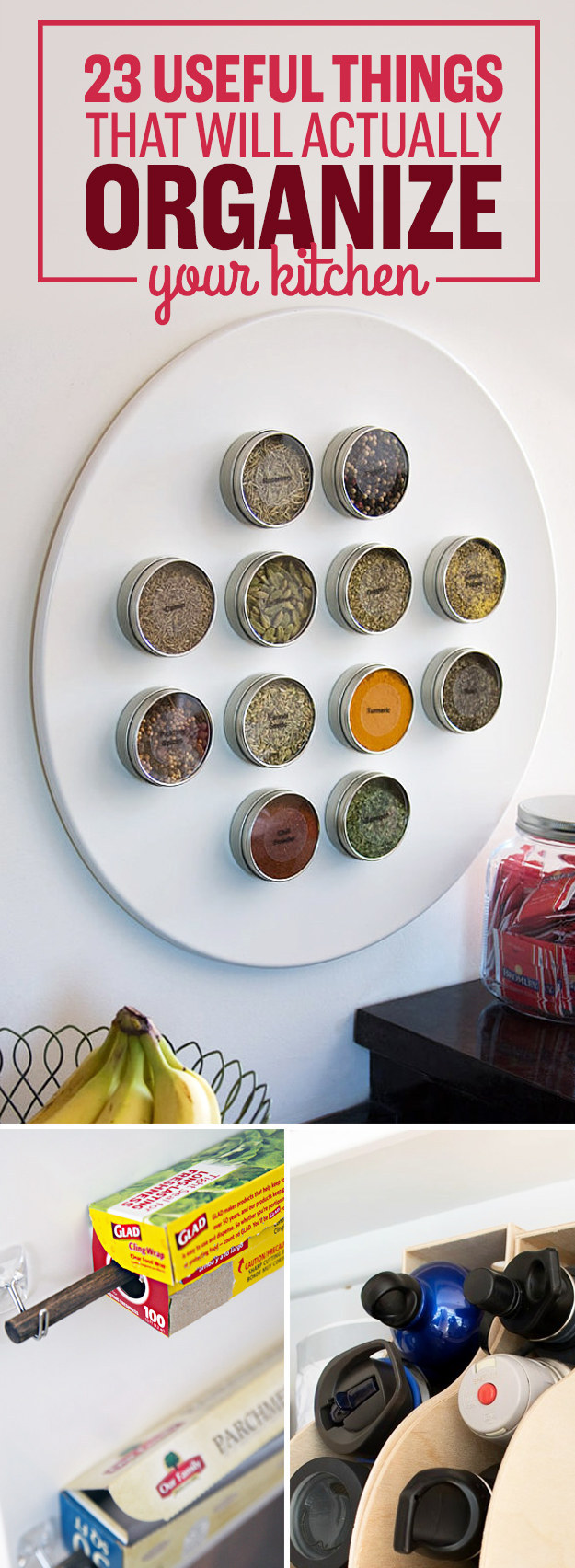 23 Things To Organize Your Kitchen