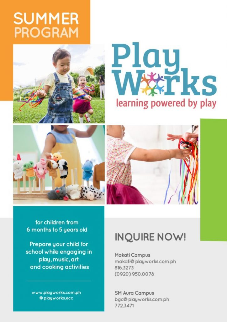 playworks, summer play classes, play classes, summer classes for kids, summer classes for kids 2019