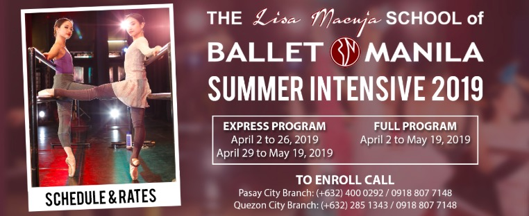 ballet manila summer classes, ballet manila, ballet summer classes, ballet classes, summer classes for kids, summer classes for kids 2019