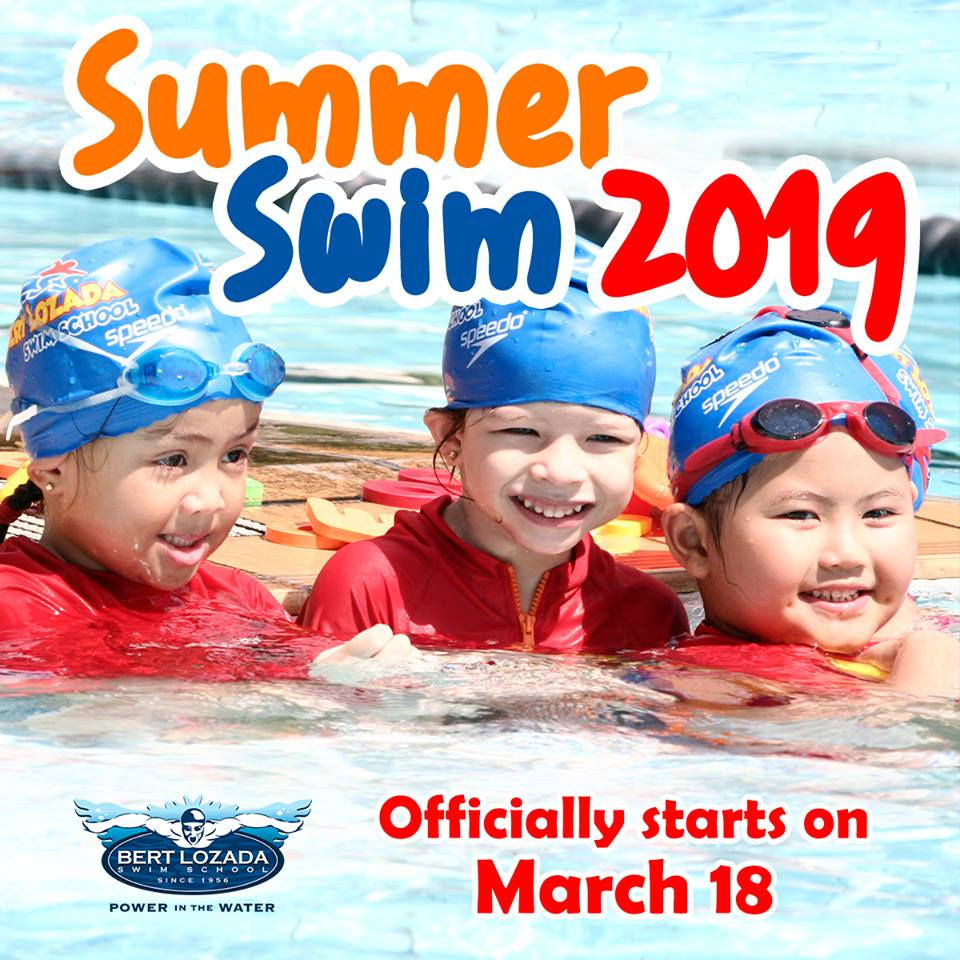 bert lozada, swimming classes, swimming classes for kids, summer classes for kids, summer classes for kids 2019