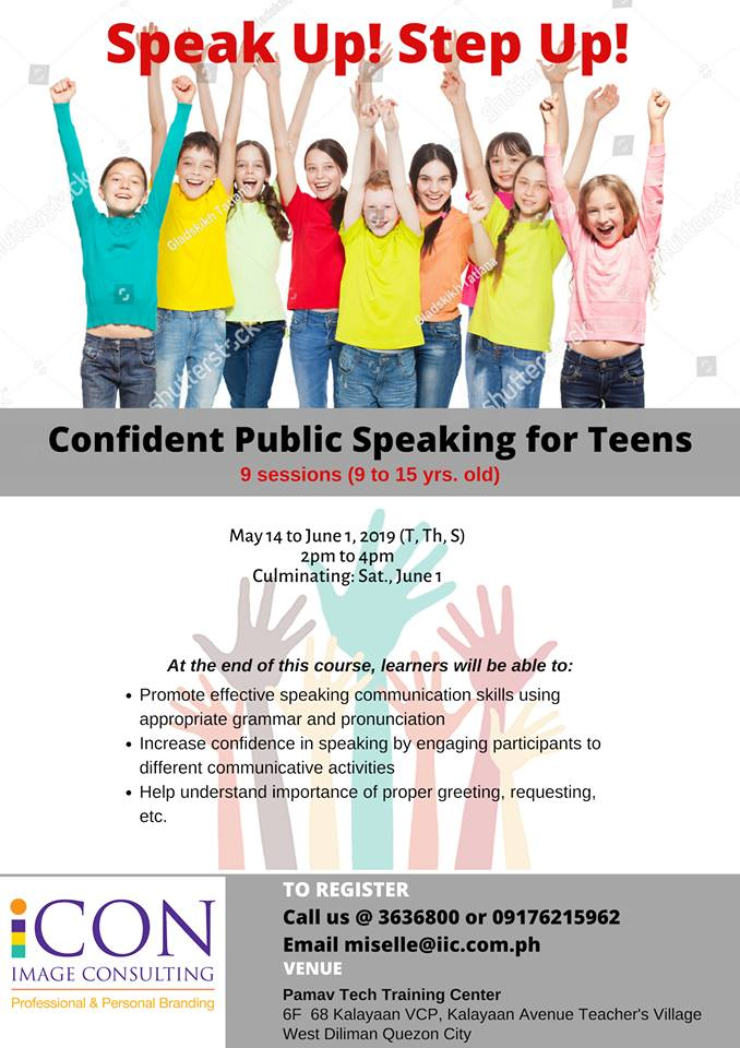 public speaking workshop for kids, public speaking summer workshop, summer classes for kids, summer classes for kids 2019