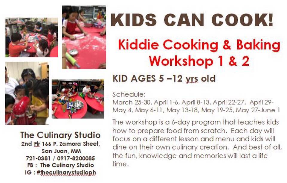 kiddie cooking and baking workshop, cooking and baking summer workshop, summer cooking workshop for kids, summer classes for kids, cooking and baking classes for kids, summer classes for kids 2019