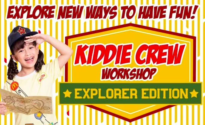 mcdonald's summer workshop, summer classes for kids, mcdonald's summer, summer classes for kids 2019