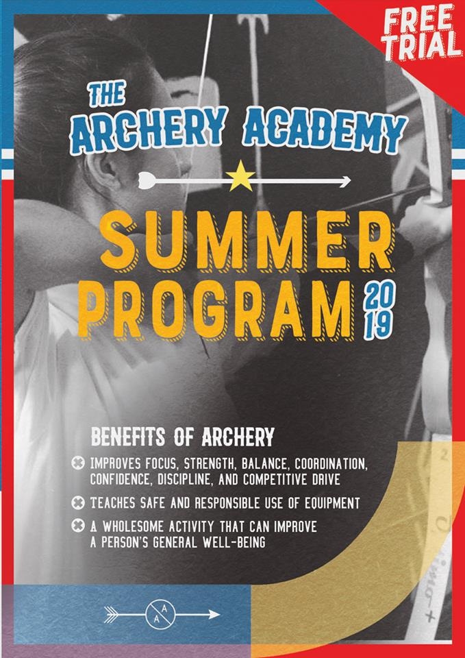 archery, archery summer classes, summer classes for kids, summer classes for kids 2019