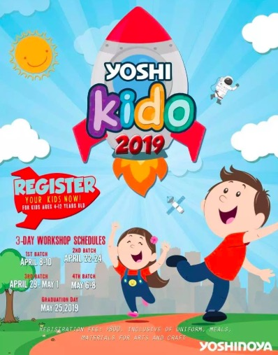 yoshinoya summer crew, summer classes for kids