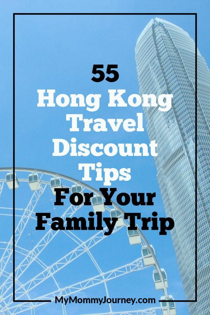 Hong Kong travel discount tips, Hong Kong travel, Hong Kong, travel discount tips, family trip