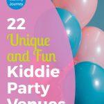 unique and fun kiddie party venues, fun kiddie party, kiddie party venues, birthday party, kiddie party