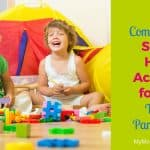 Easy, Comprehensive Stay at Home Activities for Kids (to Keep Parents Sane)