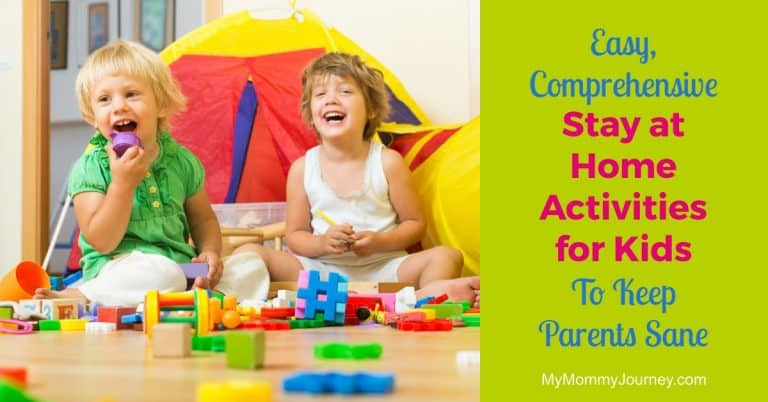 easy stay at home activities for kids, activities for kids