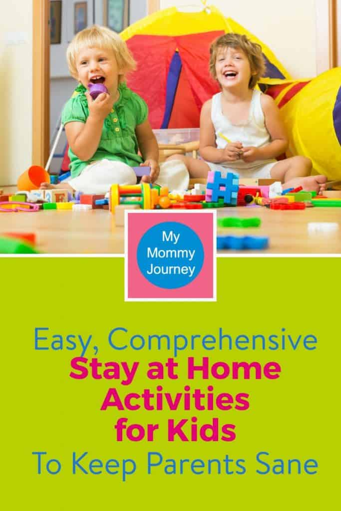 stay at home activities for kids, activities for kids, activities for kids stuck at home
