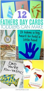 father's day quarantine cards by toddlers