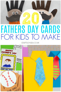 father's day quarantine cards for kids to make