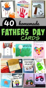 father's day quarantine homemade cards